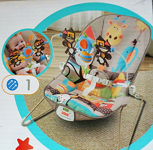 fisher price baby wippe fun friends mit. Black Bedroom Furniture Sets. Home Design Ideas