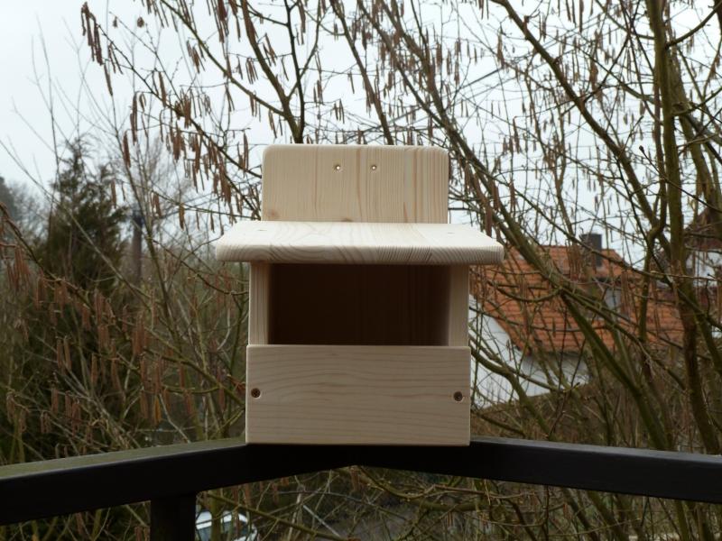 Vogelhaus Nistkasten Modell Halbhöhlenbrüter