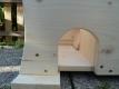 Igelhaus Igelhütte mit Rattenklappe XXL