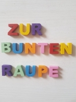 Holzbuchstaben Handgesägt farblos oder bemalt