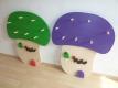 SET Kinderbank mit Kindergarderobe